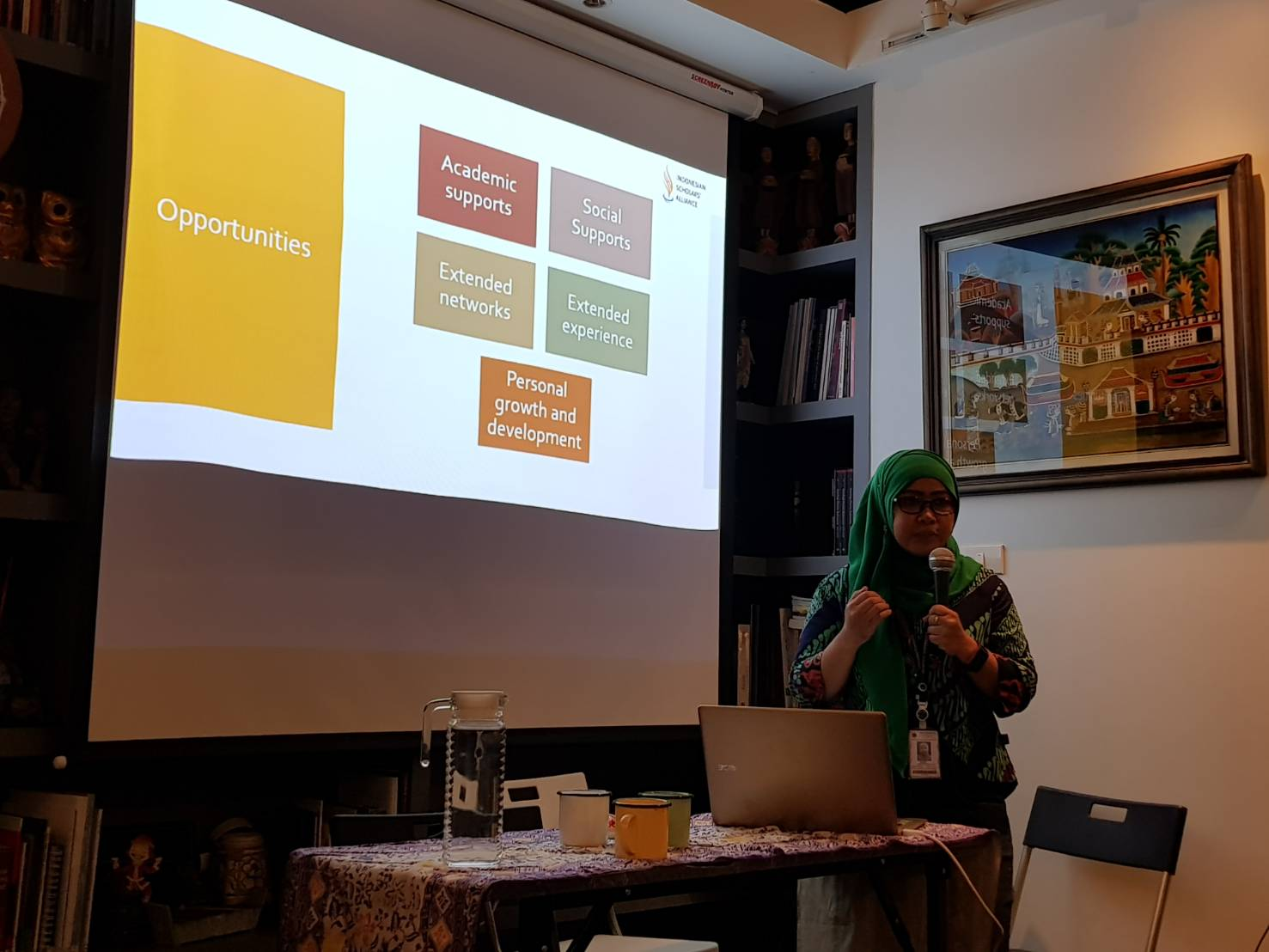 Speech: Challenges and Opportunities for Indonesian Students